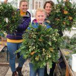 Christmas Market Wreath Making
