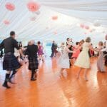 Gordon Castle Wedding Marquee