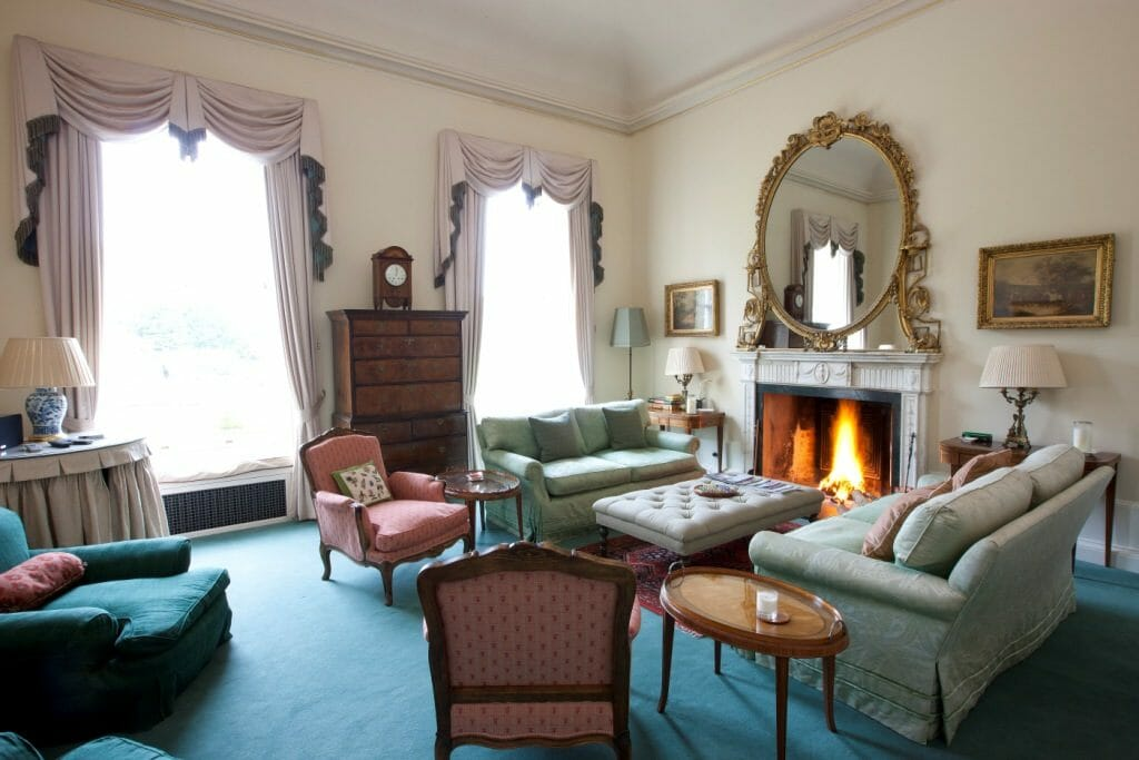 Gordon Castle Drawing Room