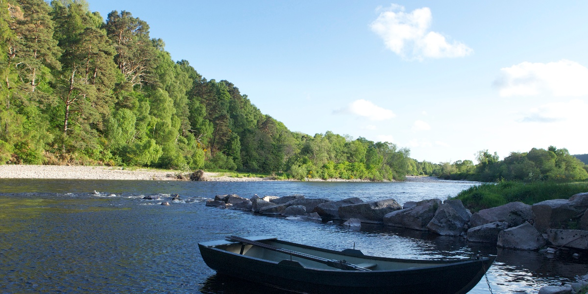 Gordon Castle Fishing River Spey