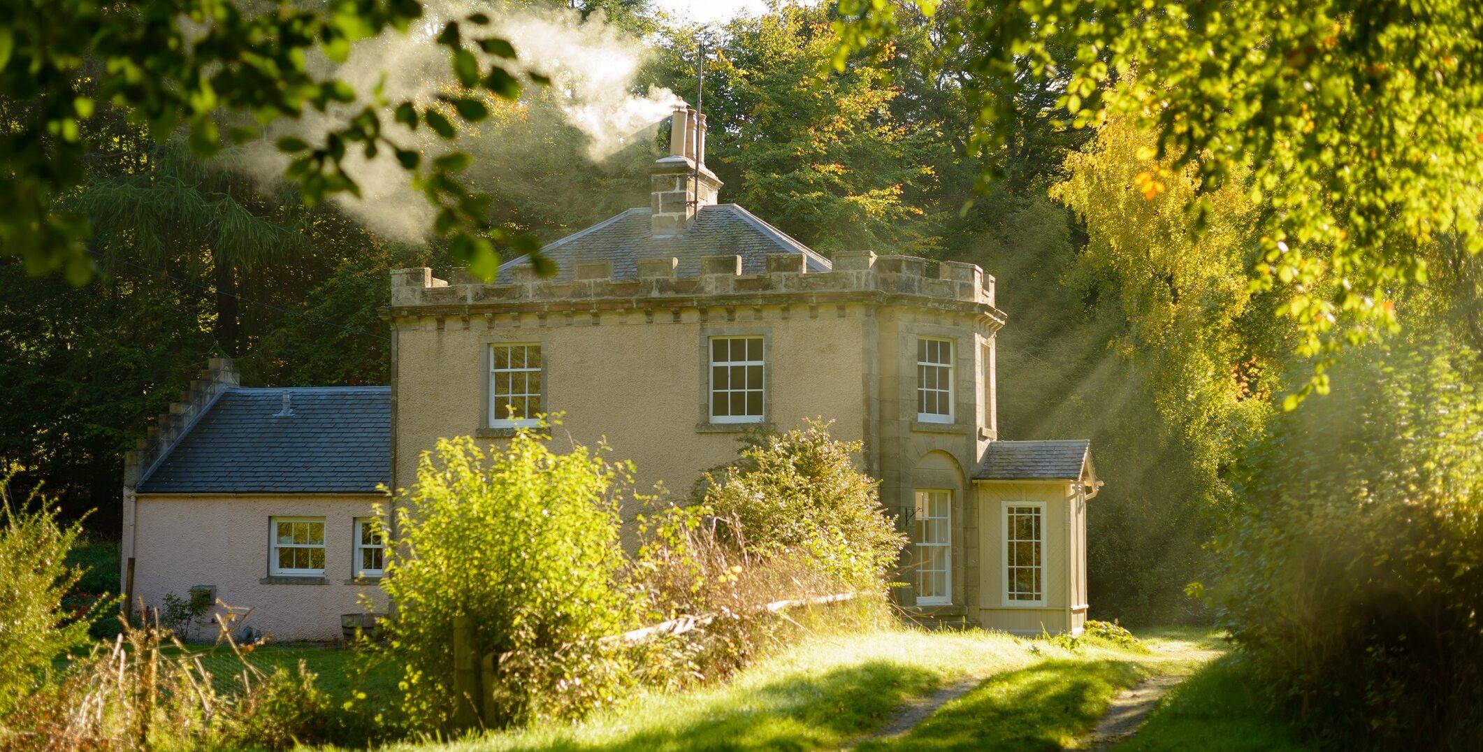 Quarry Gardens Lodge Gordon Castle