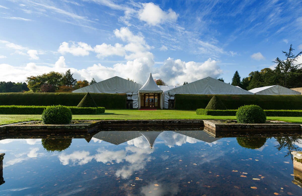Gordon Castle Marquee Wedding