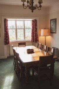 Garden Cottage Gordon Castle Dining Room