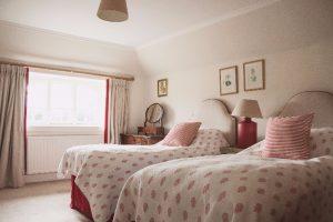 Garden Cottage Gordon Castle Bedroom