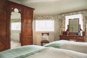 Garden Cottage Gordon Castle Twin Bedroom 2
