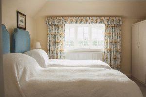 Garden Cottage Gordon Castle Twin Bedroom 3