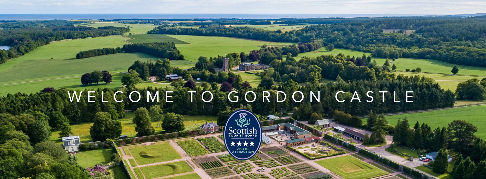 Gordon Castle Walled Garden 4 Star Visitor Attraction