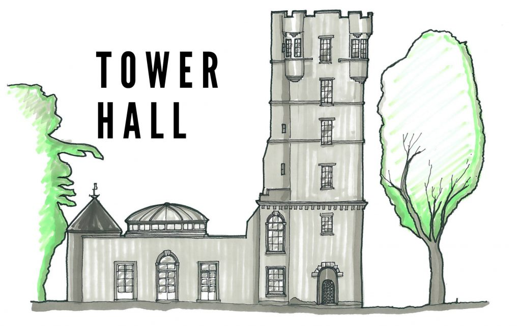 Gordon Castle Tower Hall Wedding